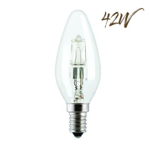 Halogen Energy saver SES Candle Lightbulb 42W (630 lumens) 803405